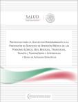 Protocolo para el acceso sin discriminación a la prestación de servicios de atención médica de las personas lésbicos, gay, bisexual, transexual, travesti, transgénero e intersexual y Guías de atención específicas