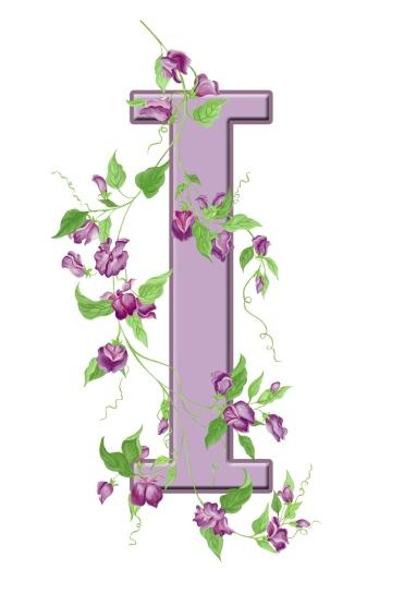 letter-i-floral-initial